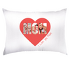 Personalized Super Soft Mom Pillow Case With Heart And Photo