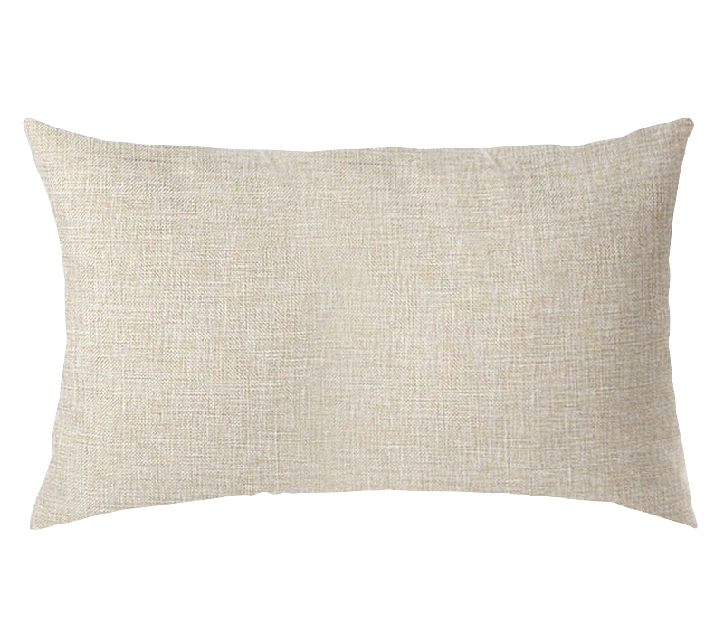 PERSONALIZED PILLOW CASE LINEN-Rectangle- 30x50cm-One-Side