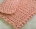 Hand Made Chunky Winter Blanket