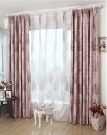 Blackout Double-Sided Pattern Curtain