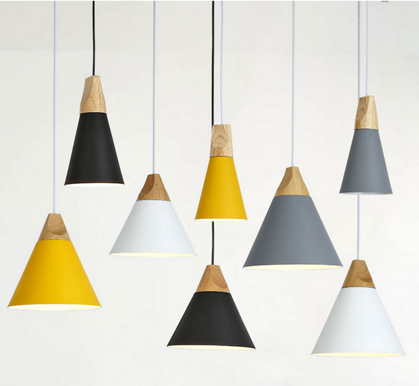 Cone Shaped Pendant Lights