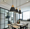 Wood Series Modern Cone Shaped Pendant Lights
