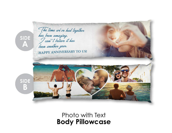 Personalized Body Pillow Case
