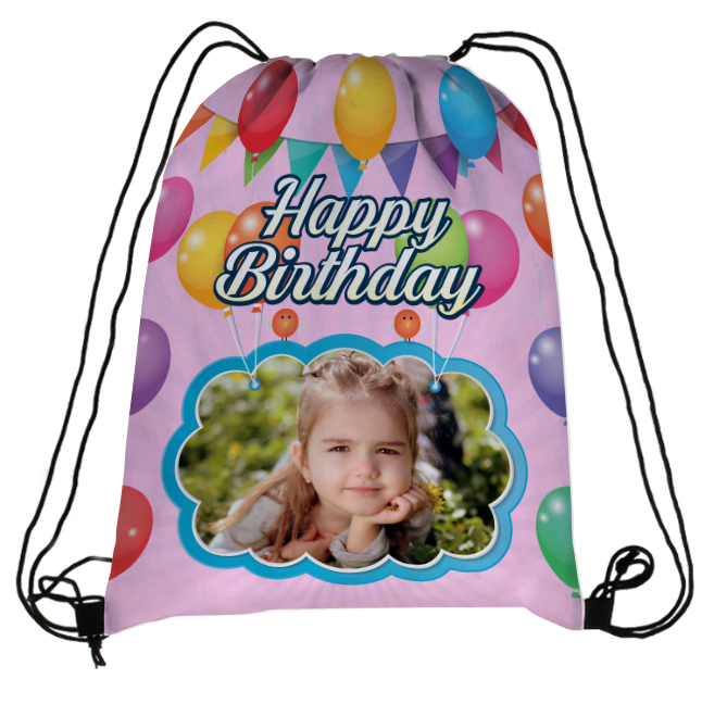 cc4f6dfaf4789f Personalized Drawstring Backpack Pack of 4