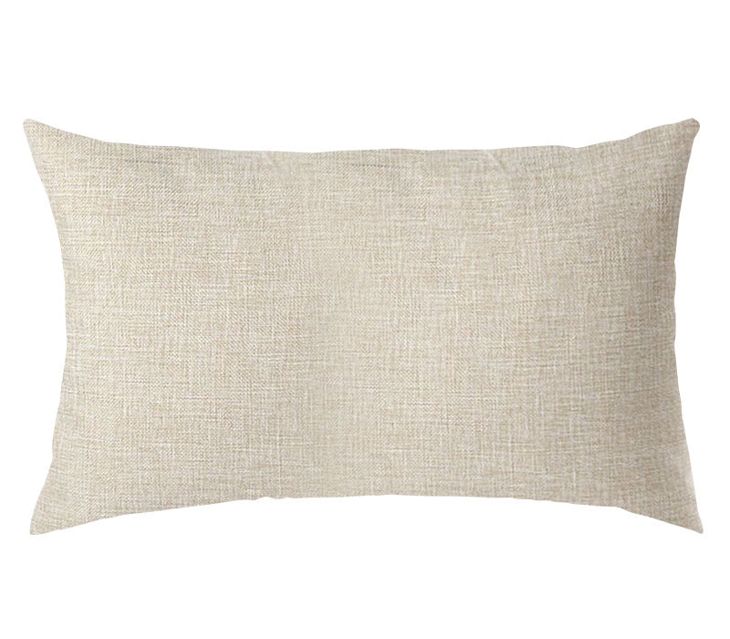 PERSONALIZED PILLOW CASE LINEN-Rectangle- 30x50cm-Two-Sides