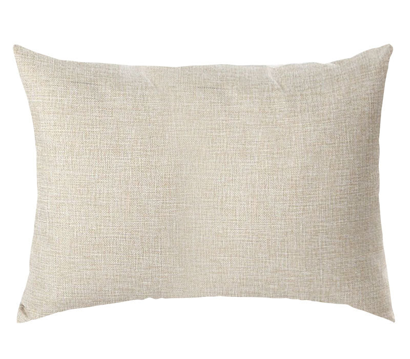 PERSONALIZED PILLOW CASE LINEN-Rectangle- 50x70cm-Two-Sides