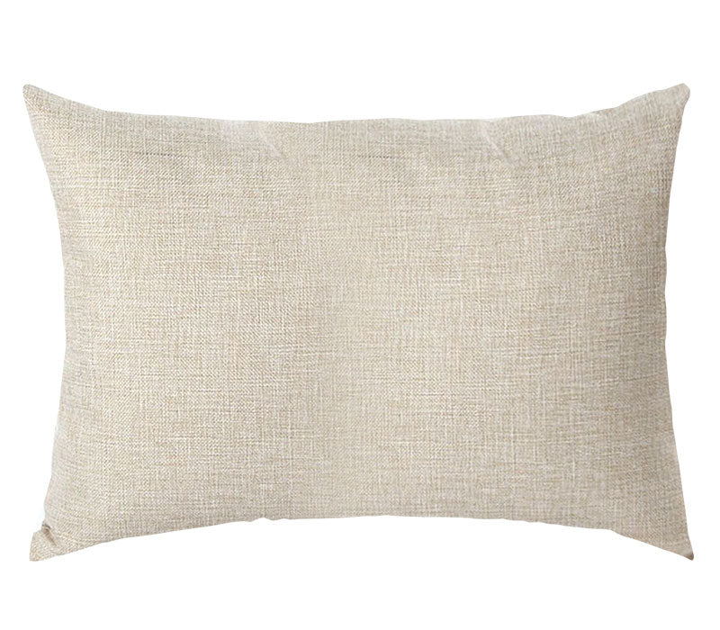PERSONALIZED PILLOW CASE LINEN-Rectangle- 40x60cm-Two-Sides