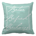 Distinct Interior Relax, Refresh, Recharge, Pillow Case