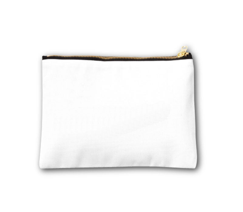 CUSTOM PRINT COSMETIC TRAVEL POUCH CANVAS-22X16CM