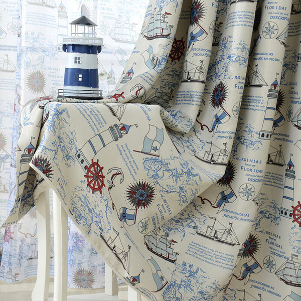 Nautical Blackout Curtains