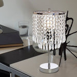 Crystal Bedside Table Lamp