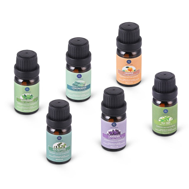 Pure Essential Oils 10ML 6pcs Gift Set