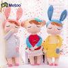 Kawaii Plush Stuffed Animal Cartoon Kids Toys for Girls Children Baby  Angela Rabbit Girl Metoo Doll