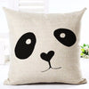 Black and White Decorative Pillow Case