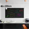 Chalk Board Removable Vinyl Black Sticker Wall Mural Decals