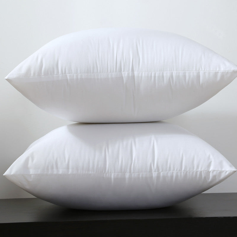 Square White Peached Fabric Cushion Insert Decorative Pillows filling 450g for 45x45cm