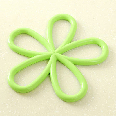 Silicone Quincunx Heat-Proof Mat Anti-Slip Pot Holder Pan Pad Bowl Plate Dish Placemat Cup Coaster Kitchen Dining Table