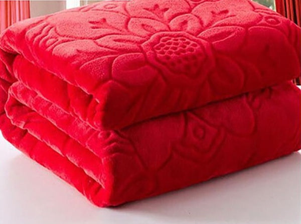 Flannel Fabric blanket Soft Blanket on bed Coral Fleece Warm Throw Blankets travel blanket #2