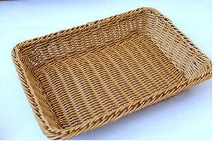 DIY Storage Baskets Rattan Handwork Basket Bread Basket food  fruit basket for kitchen and living room dining room free shipping