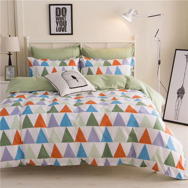 Various Designs 3/4pcs Bedding Sets Bed Linen Duvet Cover/ Bed Sheet/Pillowcase