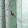 Birds and Flowers Blackout Curtains