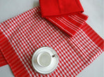 High Quality 100% Cotton Dish Cloth Plaid pano de prato Eco-Friendly Kitchen Towel Bulk Tea Towel Lots Scouring Pad 3PC/Set OEM