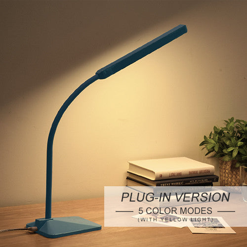 Scandinavian LED Desk Lamp with Touch Control 5-level Dimmer & Color