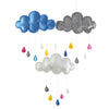 Kids Room Decoration Raining Clouds Water Drop