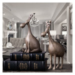 Retro Nordic Style Home Decoration Crafts Lovely Deer