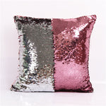 Mermaid Sequin Cushion Cover 40cmX40cm Available In Various Colors