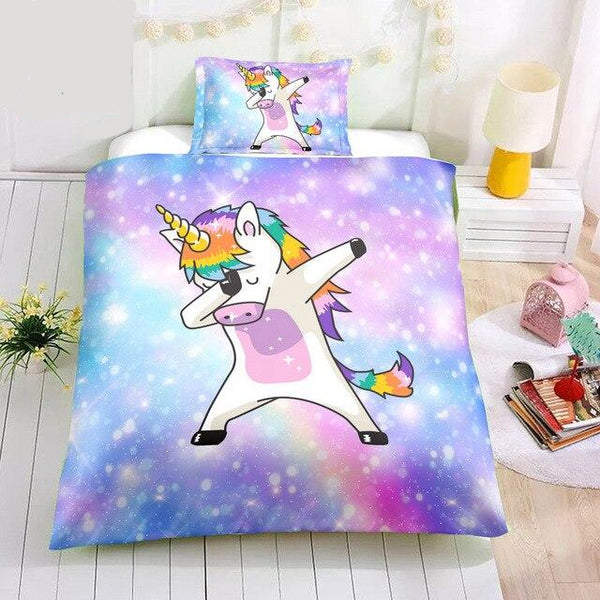Distinct Interior Personalized Rainbow Dancing Unicorn With Name