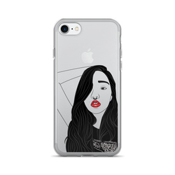 """Punk"" Girl iPhone (7/7 Plus) Case."