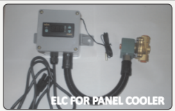 90039 ELC CONTROL - 220V for cabinet Coolers-incl. Sol. - packaged system