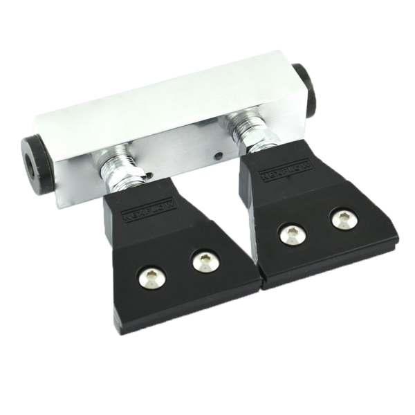 "Two outlet Manifold with two premounted Flat Jet with .012"" Gap"