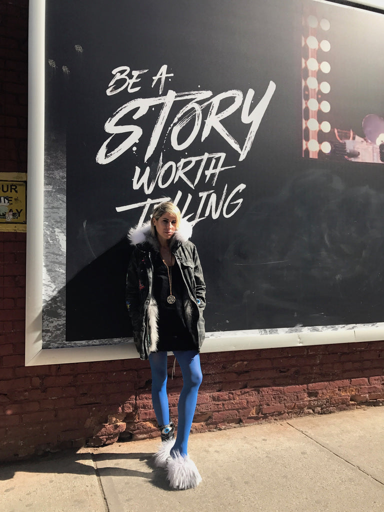 be a story worth telling...