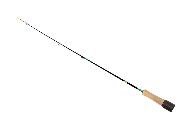 "BAITRUNNER ICE ROD 26"" UL GRAPHITE CORK HANDLE"