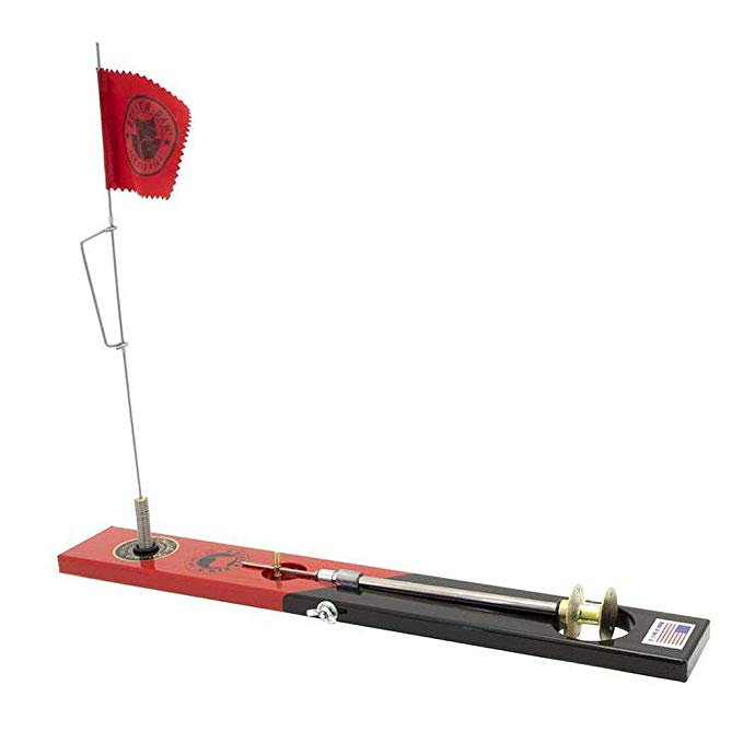 BEAVER DAM TIP-UP BLACK/RED
