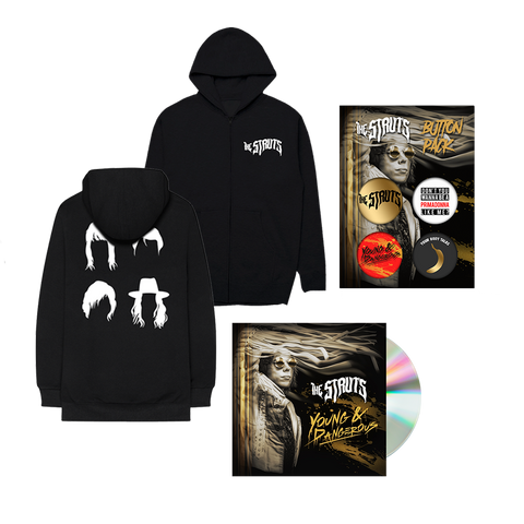 Young&Dangerous Autographed CD + Digital + Hoodie + Button Pack