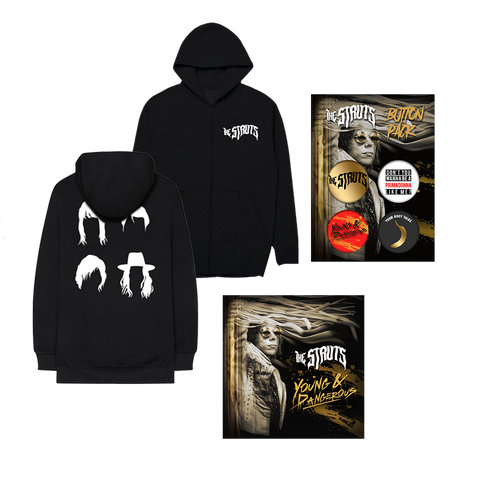 Young&Dangerous Digital + Hoodie + Button Pack