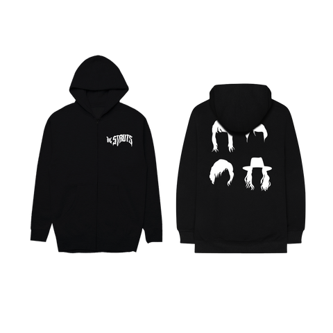 Black & White Silhouette Hoodie + Digital Album