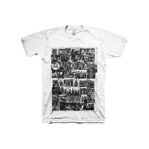 TS BLK&WHT COLLAGE T-SHIRT