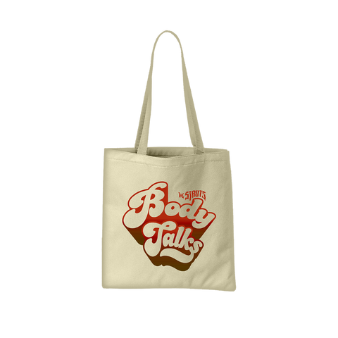 Body Talks Canvas Tote