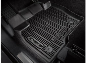 Edge - Floor Liner - Tray Style, 4-Piece, Black (2015-2019)