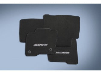 Edge - Floor Mats Carpeted, Black (2015-2019)