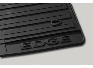 Edge - Floor Mats - All-Weather Thermoplastic Rubber, Black Dual Retention (2011-2014)
