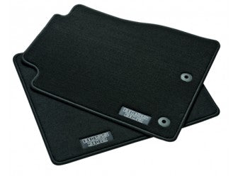 Mustang - Carpeted, Black 2-Pc Set, With BOSS Logo (2013-2014)