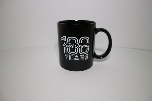 100 Year Ford Trucks Mug - Black