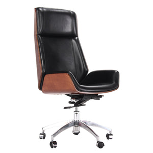 Plywood High Back Office Chair