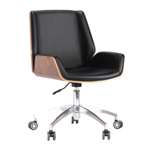 Plywood Low Back Office Chair