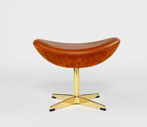 Egg Chair Stool Waxy - Repro Furniture
